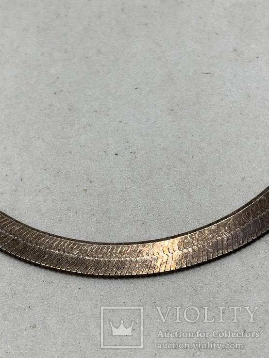 Винтажная Итальянская цепочка(серебро 925,клейма), фото №3