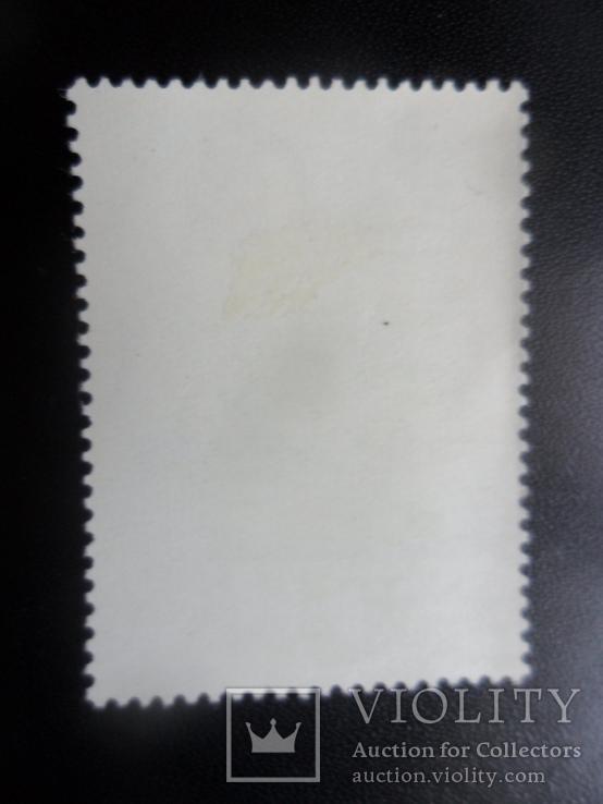 Спорт. Бермудские острова. 1964 г. Парусный спорт. марка MLH, фото №3