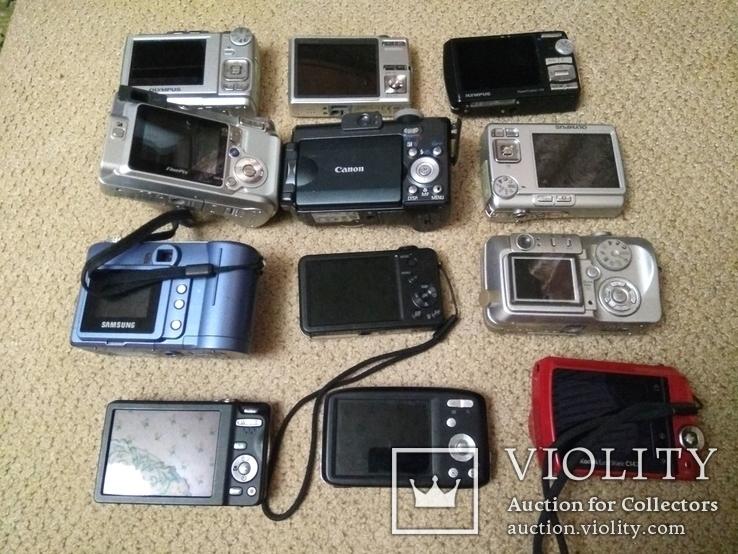 Фотоаппараты цифровые 12шт (ремонт), фото №3