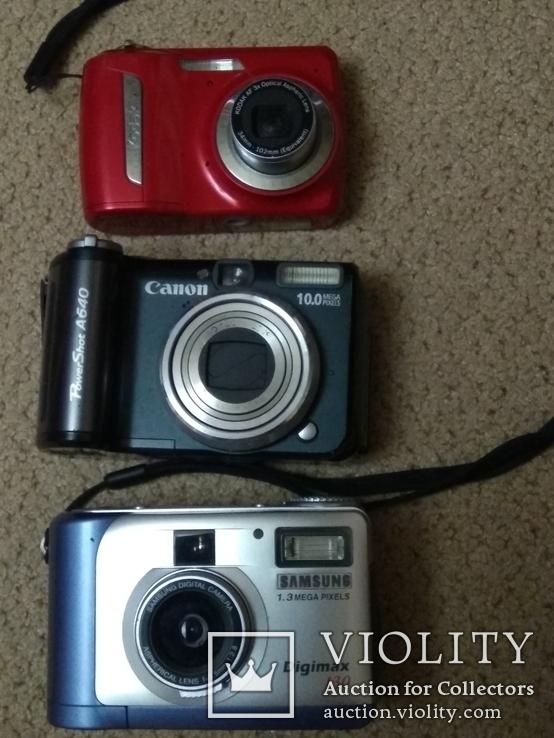 Фотоаппараты цифровые 12шт (ремонт), фото №7