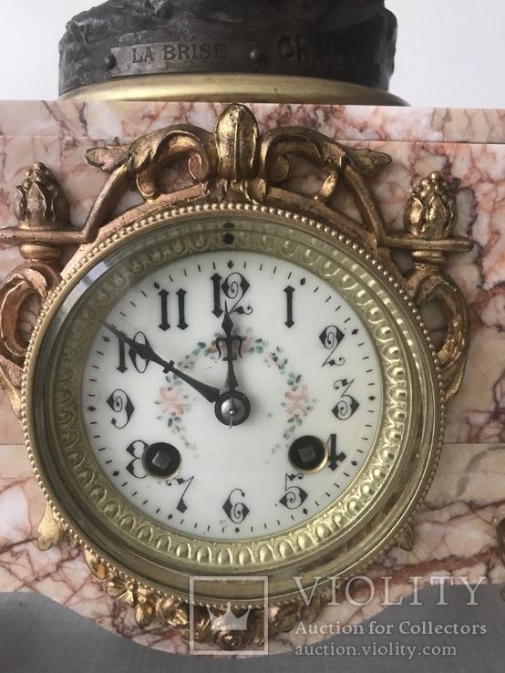 Французские каминные часы, фото №5