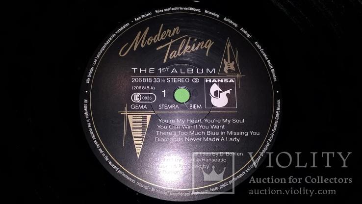 Modern Talking (1-6 Albums) 1985-87. Vinyl. (12). Пластинки. Hansa. Germany. Все альбомы, фото №5