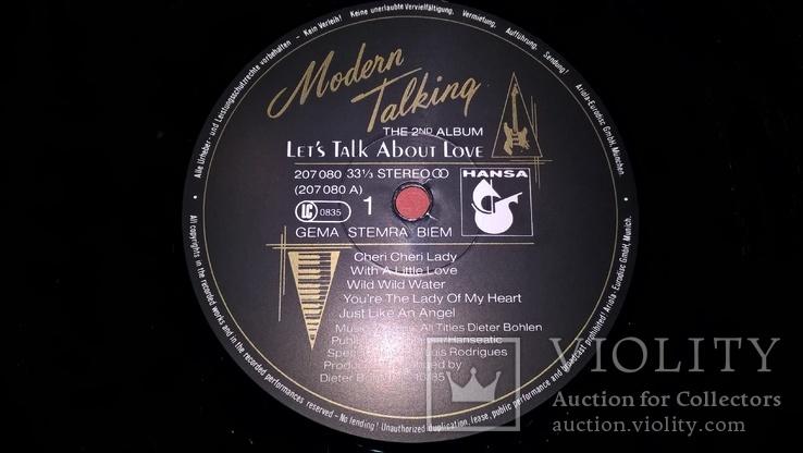 Modern Talking (1-6 Albums) 1985-87. Vinyl. (12). Пластинки. Hansa. Germany. Все альбомы, фото №9