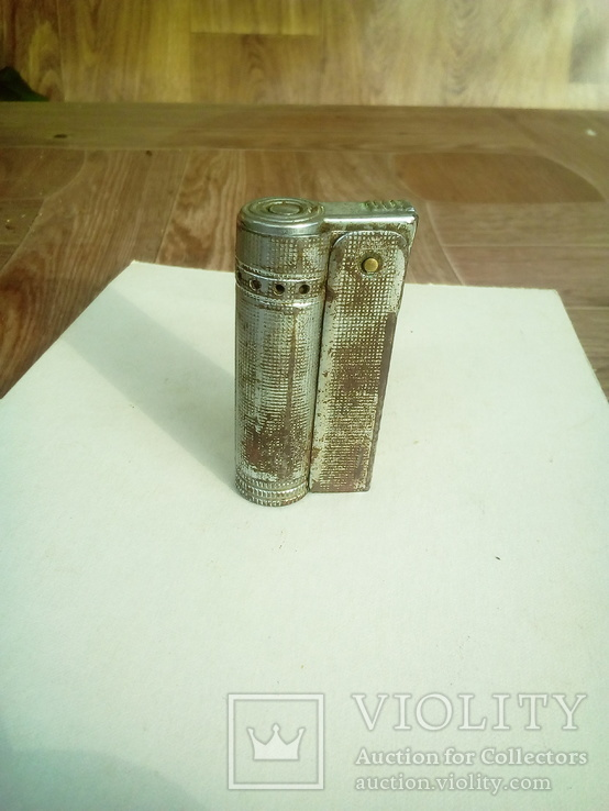 Старинная бензиновая или керасиновая зажигалка., фото №2