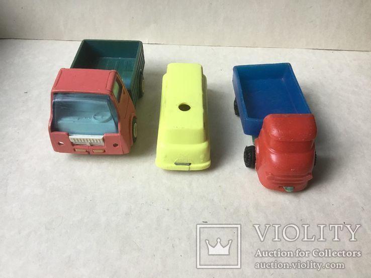 2 грузовика и микроавтобус,  времен СССР., фото №5