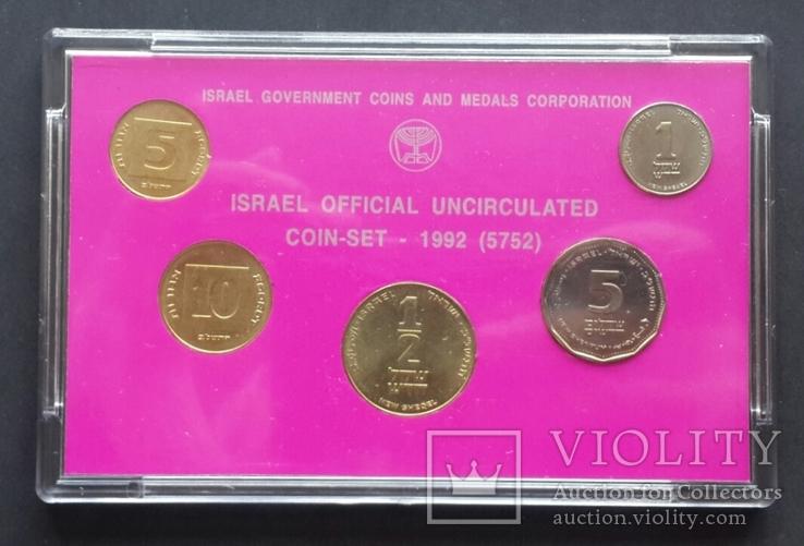 Израиль. Годовой набор 1992 года., фото №4