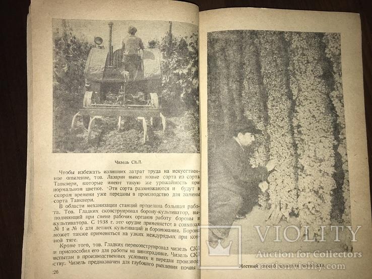 1940 За высокие урожаи Винограда, фото №2