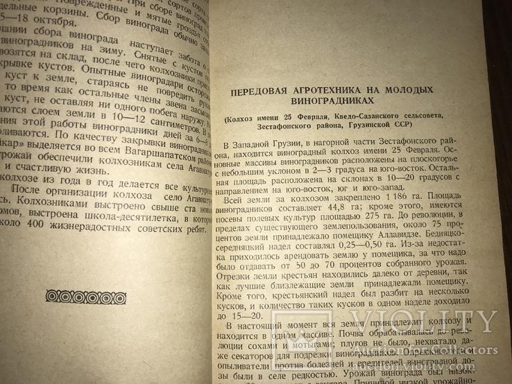 1940 За высокие урожаи Винограда, фото №7