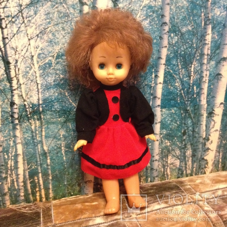 Кукла СССР Ася (Донецкая фабрика), фото №3