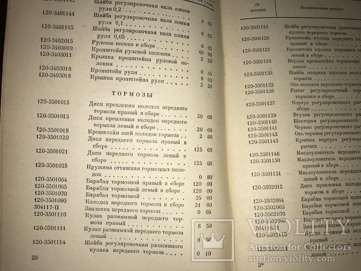 1950 Каталог Запчастей Грузовых автомобилей ЗИС, фото №7