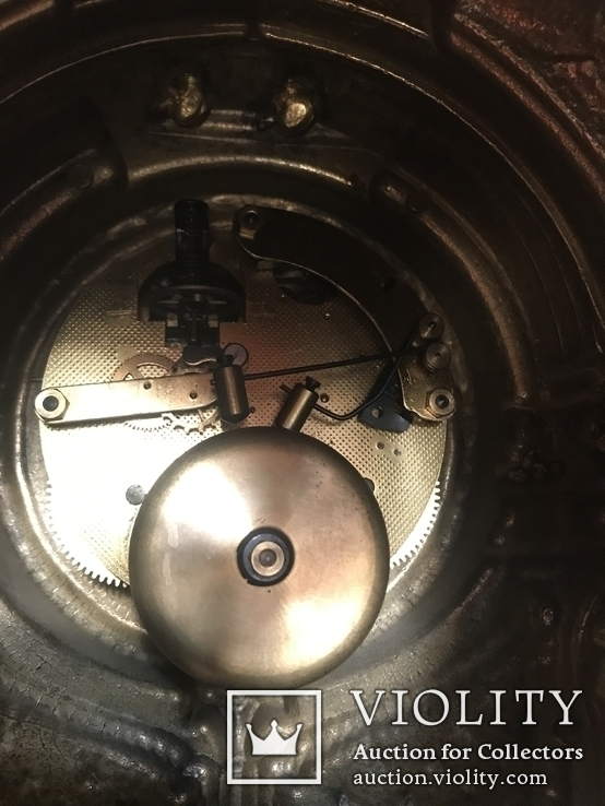 Часы каминные с подсвечниками. Из Италии., фото №5