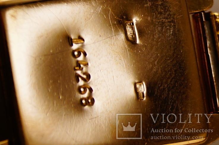 Золотые часы с браслетом 585 пробы, фото №9