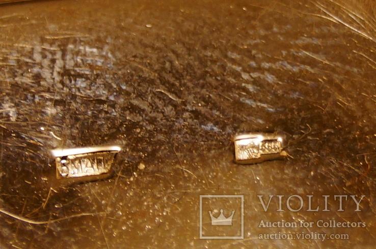 Золотые часы с браслетом 585 пробы, фото №10