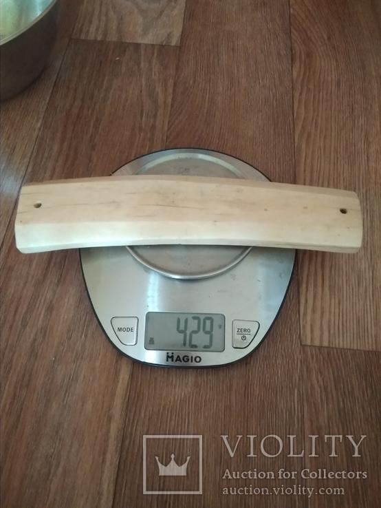 Клык моржа пластинка 0,43 кг, фото №2