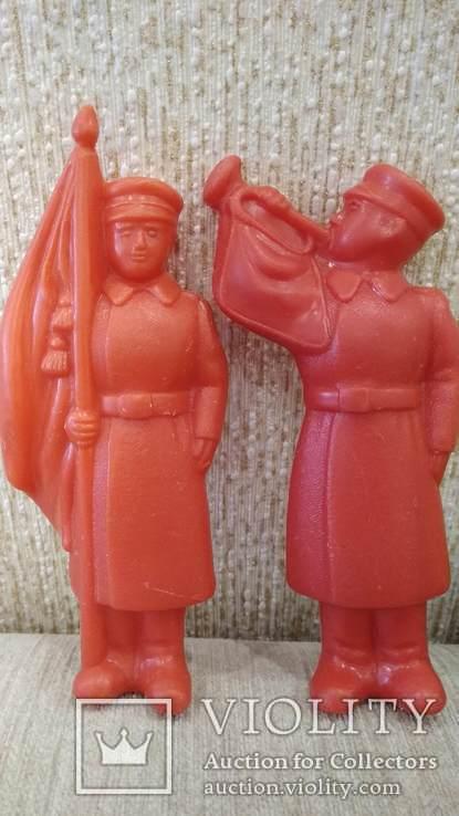Фигурки солдат 12см. большие 8шт., фото №6