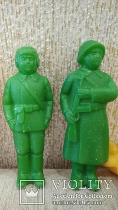 Фигурки солдат 12см. большие 8шт., фото №7