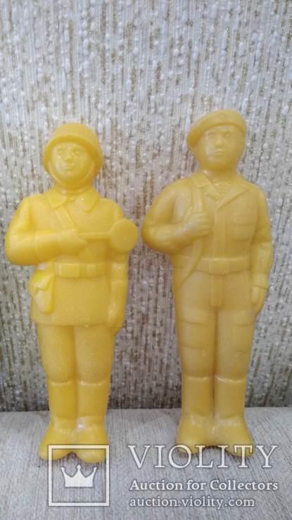Фигурки солдат 12см. большие 8шт., фото №8