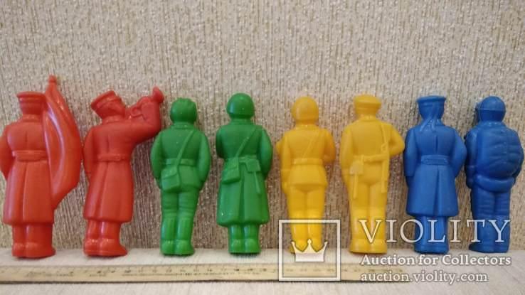 Фигурки солдат 12см. большие 8шт., фото №11