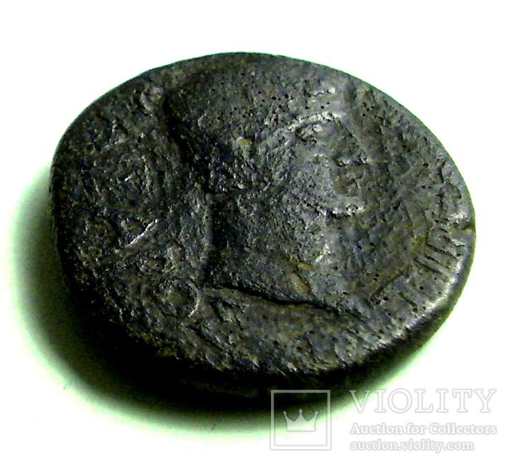 Пантикапей Ассарий Го-ва Аспурга влево слева BI а не IB Го-ва Тиберия вправо, Лот 3525, фото №3