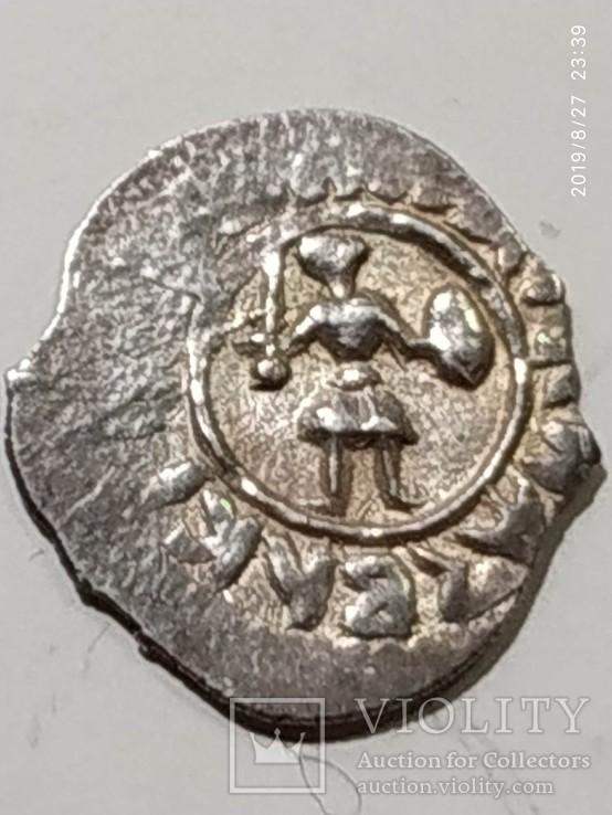 Деньга Бориса Александровича Тверского 1450-1461гг