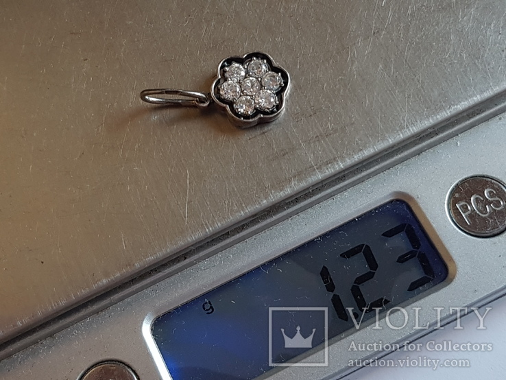 Кулон. Серебро 925 проба. Вес 1.23 г., фото №8
