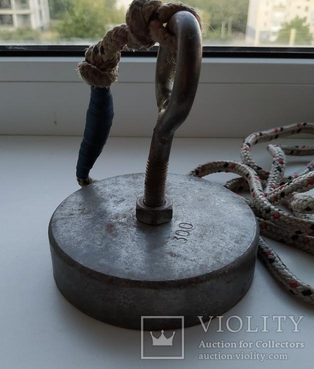 Пошуковий магніт 300 + мотузка 17 м., фото №7