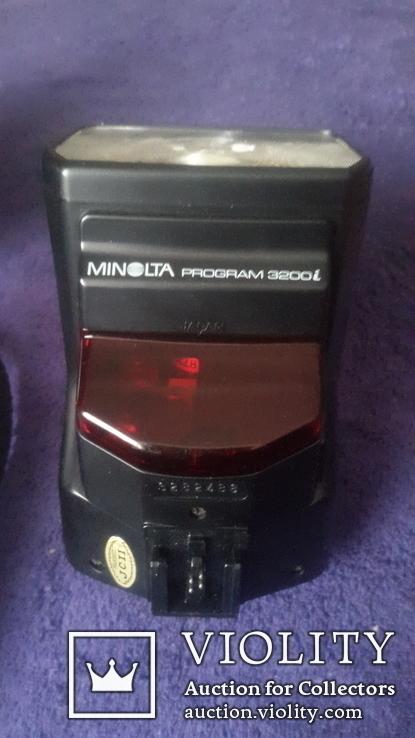 Японский фотоаппарат Minolta Dynax7000i c вспышкой, фото №6
