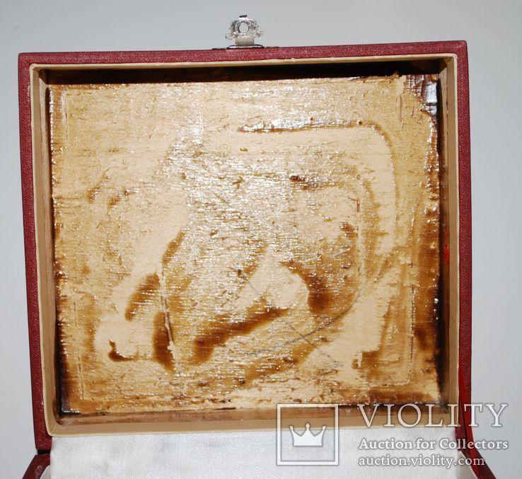 Подарочная коробка для подстаканника из серебра, ГлавЮвелирТорг СССР.