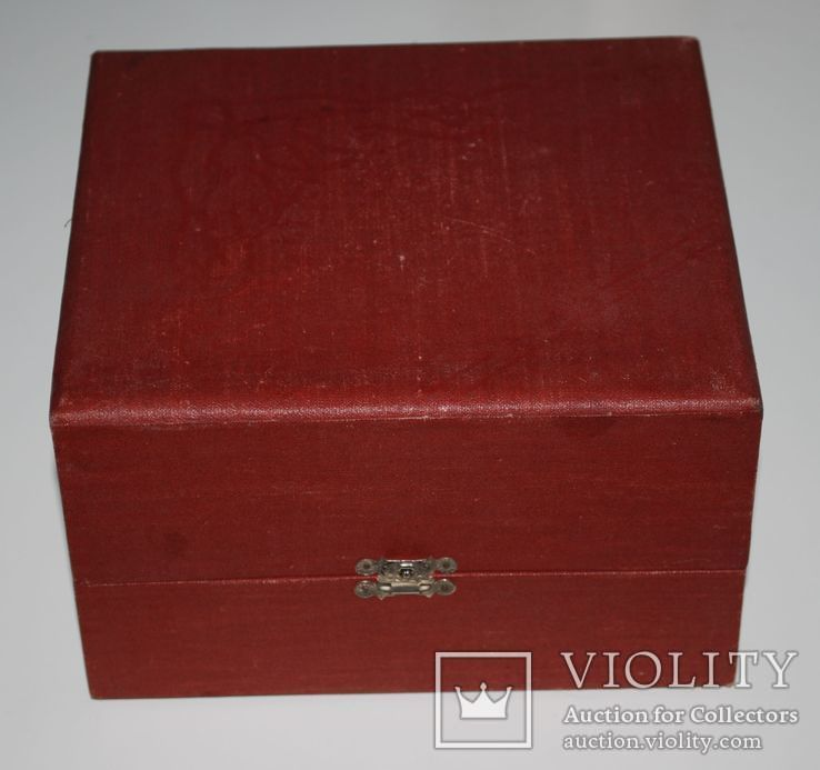 Подарочная коробка для подстаканника из серебра, ГлавЮвелирТорг СССР., фото №13