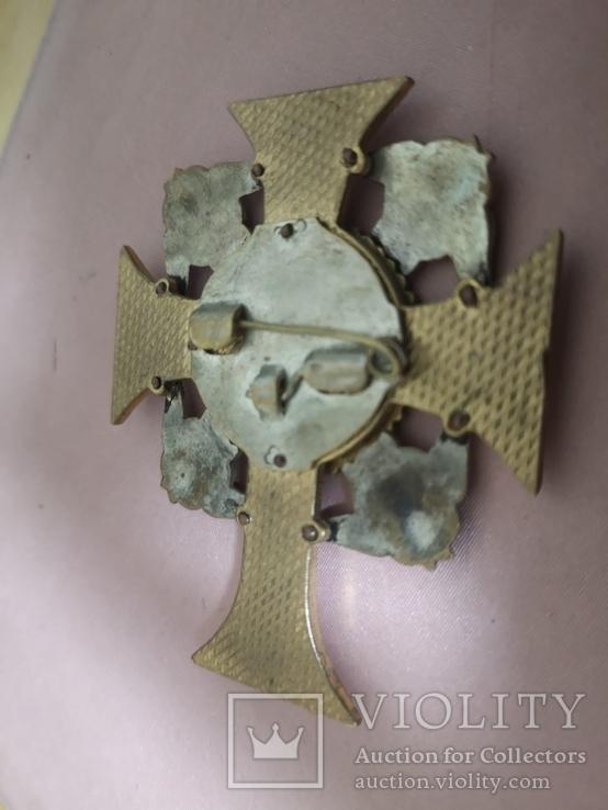 Крест УПЦ Архангел Михаил, фото №3