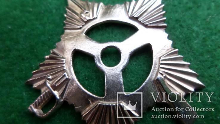 Штрал на орден Отечественной войны 1 степени серебро позолота копия, фото №4