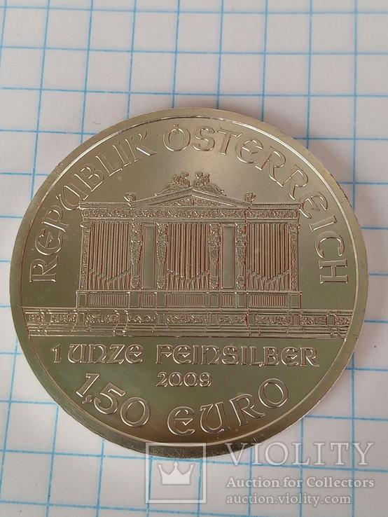 1,5 евро 2009 г. Венская филармония, фото №3