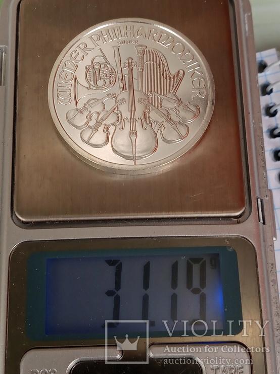 1,5 евро 2009 г. Венская филармония, фото №4