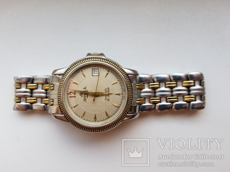 Часы Appella Ref 117 Automatic Оригинал Sapphire Crystal, фото №4