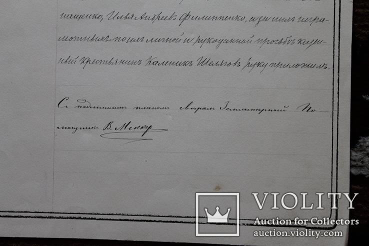 Геометрический специальный план Черниговской губернии, Козелецкого уезда, фото №9
