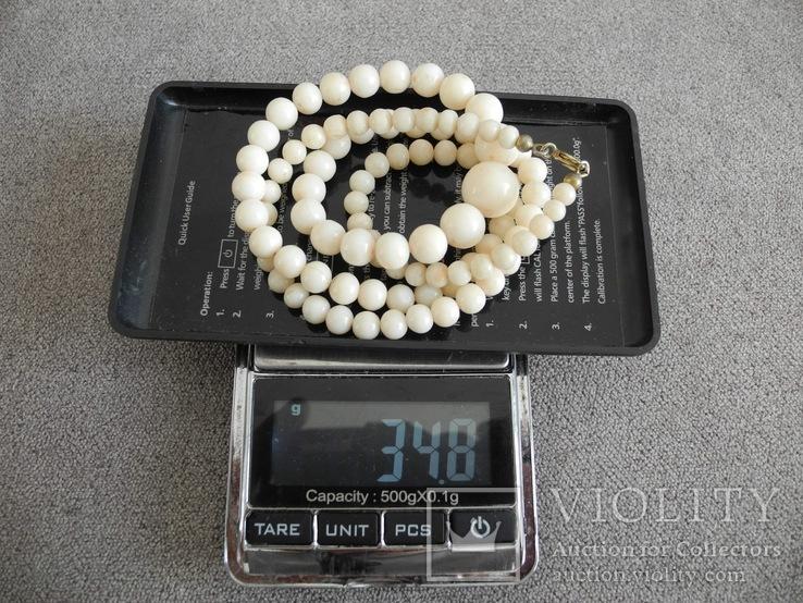Буси коралл Кожа ангела вес 34,8 гр, фото №10