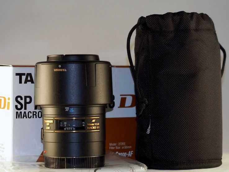 Tamron SP AF 90mm f/2.8 Di Macro, фото №2