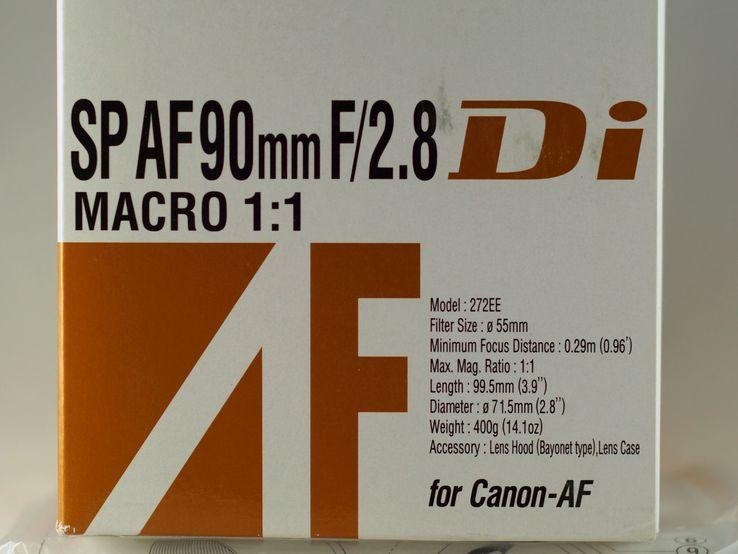 Tamron SP AF 90mm f/2.8 Di Macro, фото №3