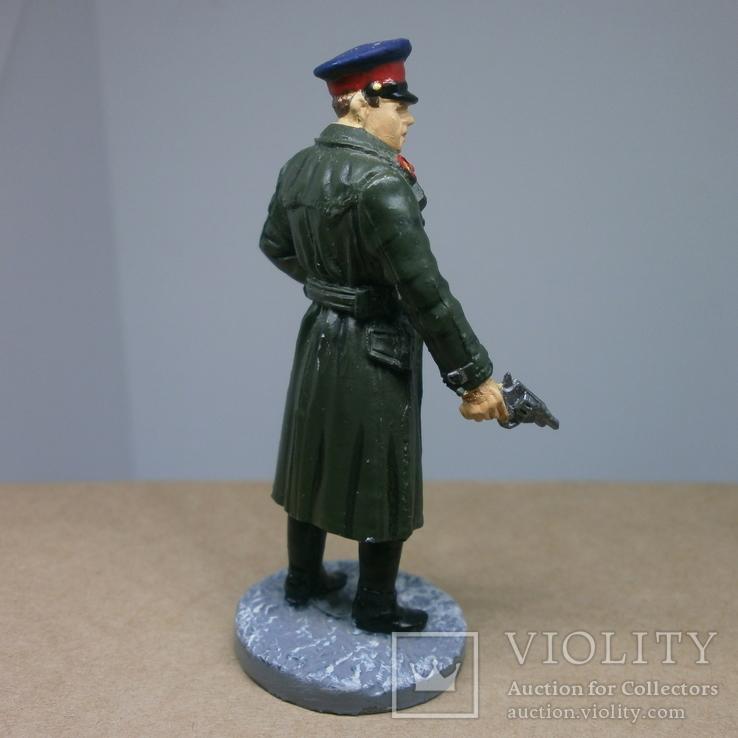 Офицер НКВД в повседневной форме 1941-1943. Олово, раскрас, фото №5