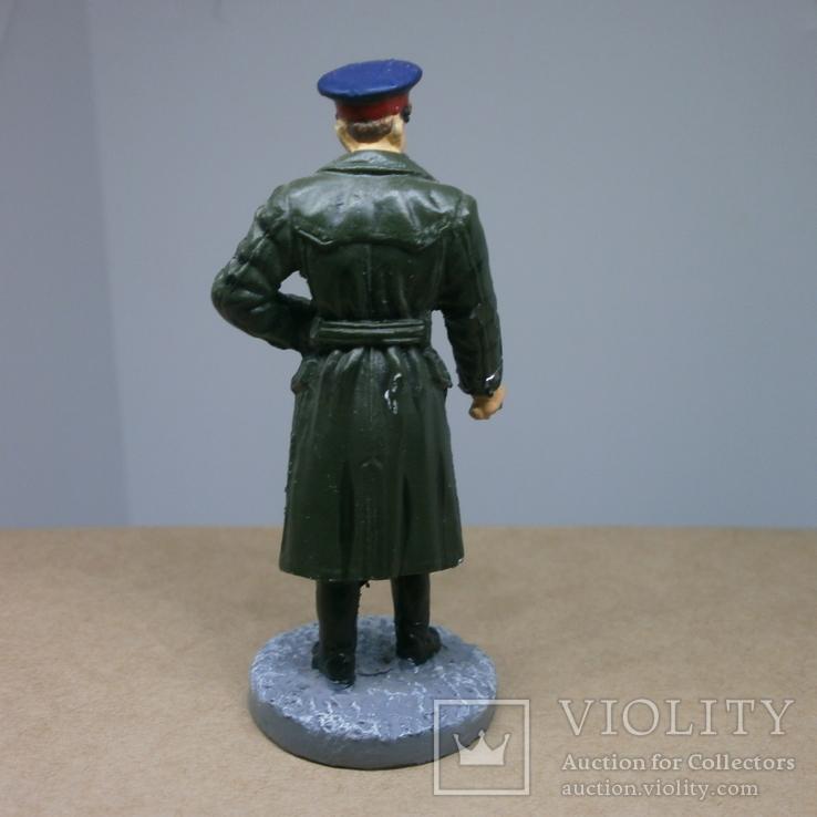 Офицер НКВД в повседневной форме 1941-1943. Олово, раскрас, фото №6