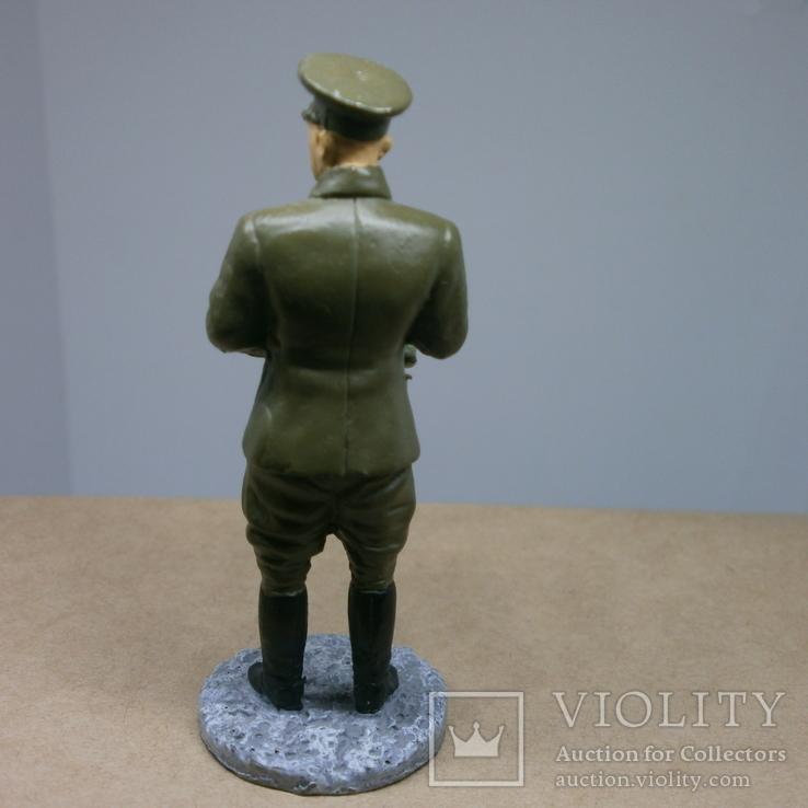 Генерал-лейтенант в походной форме 1941-1943. Олово, раскрас, фото №6