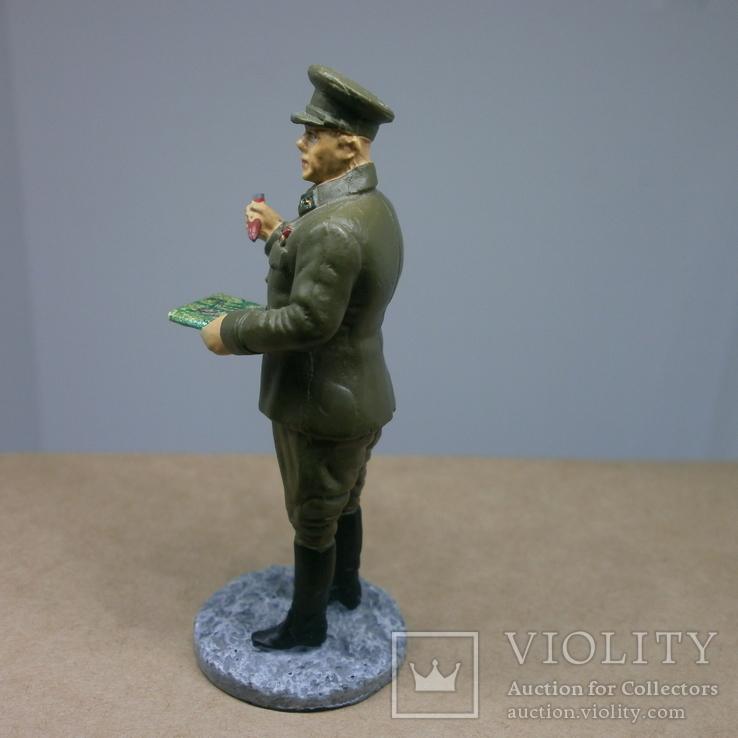 Генерал-лейтенант в походной форме 1941-1943. Олово, раскрас, фото №7