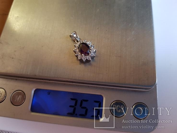Кулон. Серебро 925 проба. Вес 3.5 г., фото №7