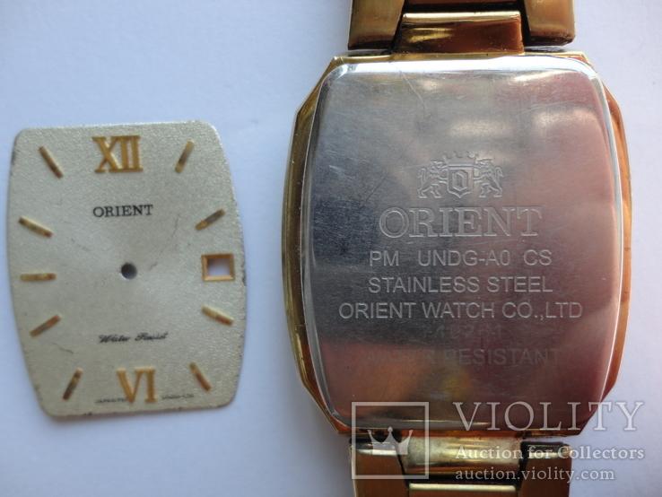 Orient корпус с стеклом и циферблатом мужские, фото №9