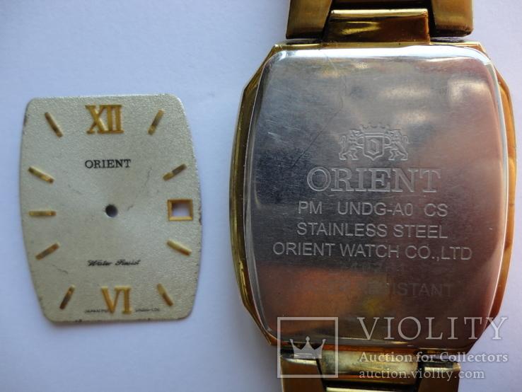 Orient корпус с стеклом и циферблатом мужские, фото №10