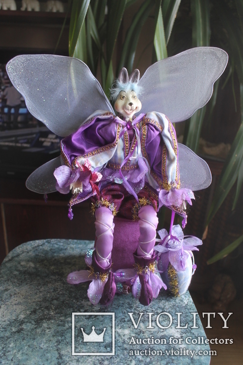 Авторская кукла Эльф Заяц, фото №2