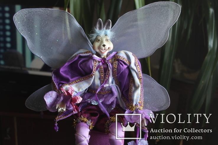Авторская кукла Эльф Заяц, фото №3