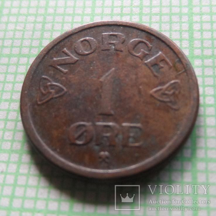 1  эре 1954  Норвегия  (,Р.5.18)~, фото №4