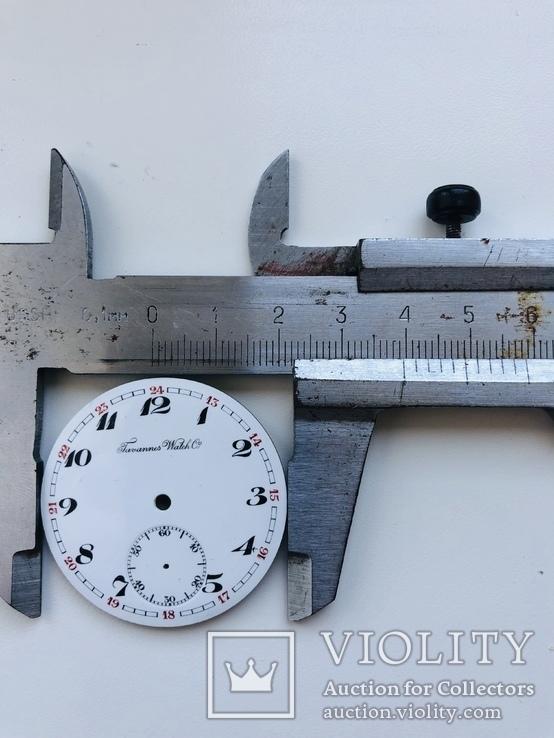 Циферблат на швейцарские часы Tanannes Watch co 39,5мм, фото №4