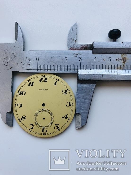 Оригинальный циферблат на Longines 45мм, фото №4